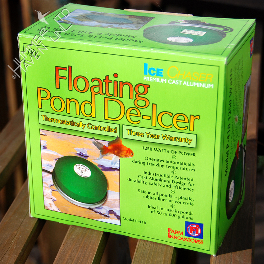 Floating Pond De-icer