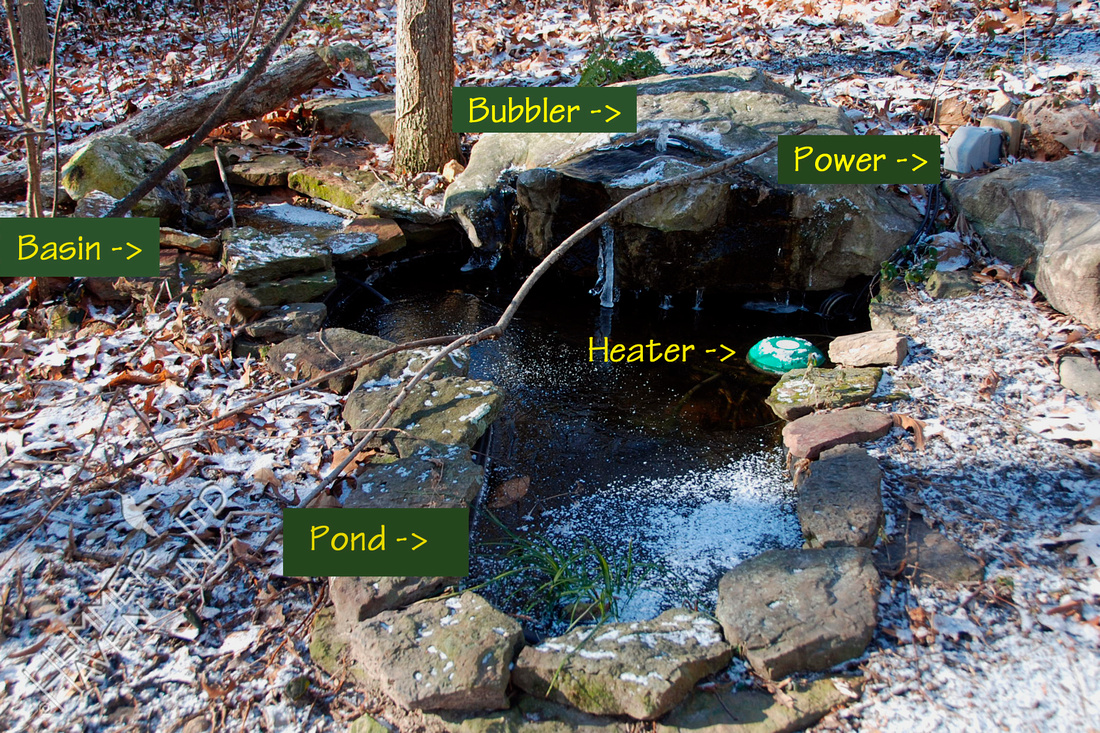 Bubbler Pond components 1-2-10